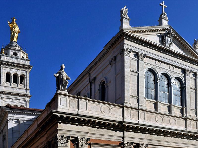 restauro risanamento conservativo Basilica Sacro Cuore Roma
